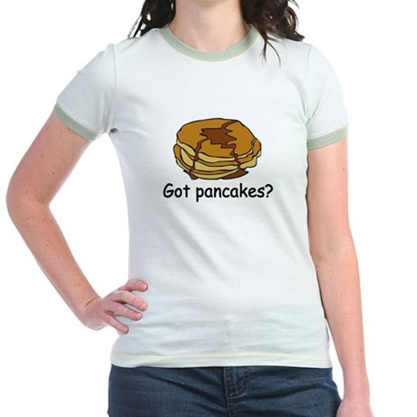 Got pancakes? Jr. Ringer T-Shirt