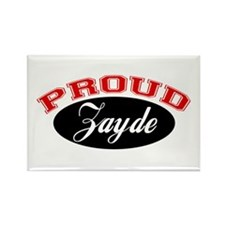 Proud Zayde Rectangle Magnet (10 pack)