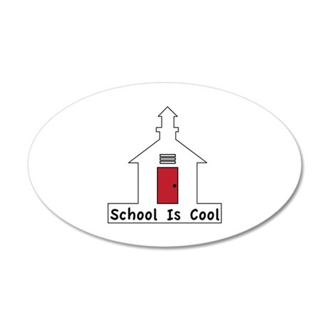School Is Cool Wall Decal