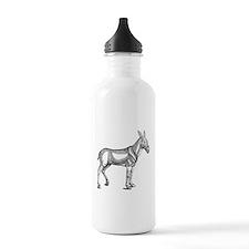 Mule Donkey Vintage Water Bottle
