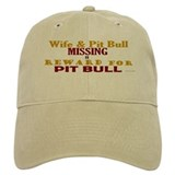 Wife & Pit Bull Missing Baseball Cap
