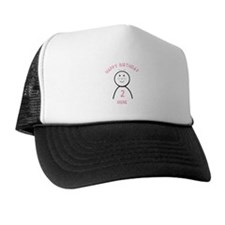 Happy B-day Irene (2nd) Trucker Hat