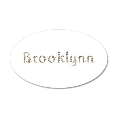 Brooklynn Seashells 35x21 Oval Wall Decal
