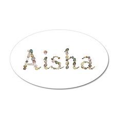 Aisha Seashells 20x12 Oval Wall Decal