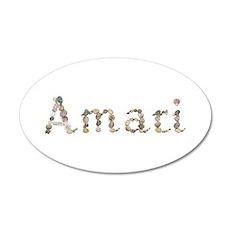 Amari Seashells 20x12 Oval Wall Decal