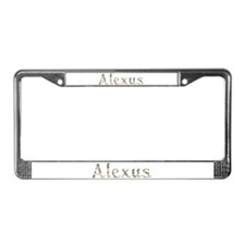 Alexus Seashells License Plate Frame