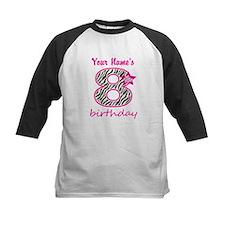 8th Birthday - Personalized Baseball Jersey