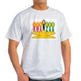 KWANZAA Ash Grey T-Shirt