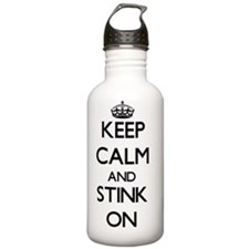 Keep Calm and Stink ON Water Bottle