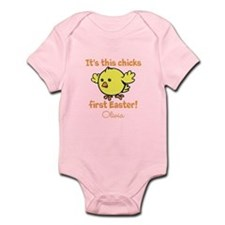 Chicks first Easter Body Suit