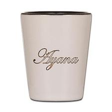 Gold Ayana Shot Glass