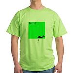 Funny Ferret Green T-Shirt