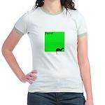 Funny Ferret Jr. Ringer T-Shirt