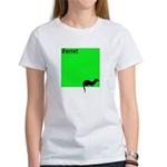 Funny Ferret Women's T-Shirt