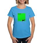 Funny Ferret Women's Dark T-Shirt