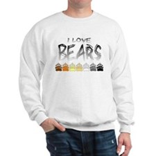 I Love Bears Sweatshirt