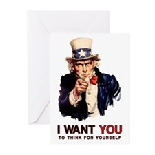 Think For Yourself Greeting Cards (20 pk)