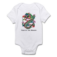Chinese Paper Cut Dragon Infant Creeper