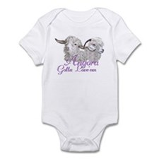 Angora Goat Gotta Love'em Infant Bodysuit