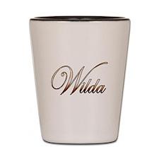 Gold Wilda Shot Glass