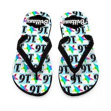 Stylish Sweet 16th Flip Flops