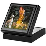 Midsummer's Eve &amp; Saluki Keepsake Box