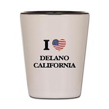 I love Delano California USA Design Shot Glass