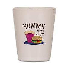 Yummy Tummy Shot Glass