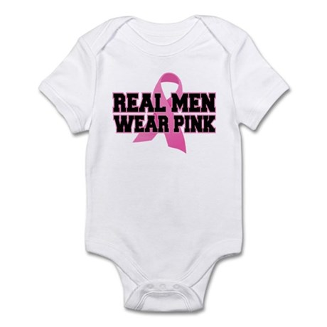 Real Men Wear Pink Infant Bodysuit
