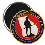 "Georgia Carry 2.25"" Magnet (100 pack)"