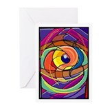 Colored Eye Greeting Cards (Pk of 20)
