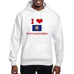 IMPEACH EM BOTH NOW! Hooded Sweatshirt