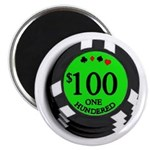 Hundred Dollar Poker Chip Card Protector