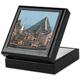 Artistic Zakim Bridge Keepsake Box