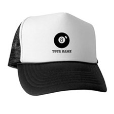 Black Eight Ball (Custom) Trucker Hat