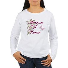 Bouquet Wedding - Matron of Honor T-Shirt