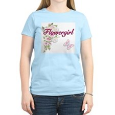Bouquet Wedding - Flower Girl T-Shirt