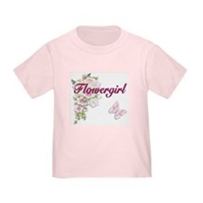 Bouquet Wedding - Flower Girl T