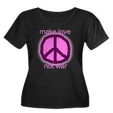 Make love. Not war. T