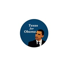 Texas for Obama campaign pin