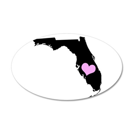 Florida State Shape Wall Decal
