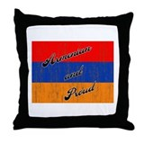 Armenian and Proud Throw Pillow