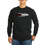 CAFFEINE LOADING... Long Sleeve Dark T-Shirt