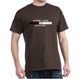 CAFFEINE LOADING... T-Shirt