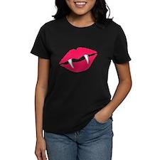 Vampiric Lipstick Tee