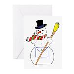 The Masonic Snowman Greeting Cards (Pk of 10)