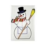 The Masonic Snowman Rectangle Magnet (100 pack)