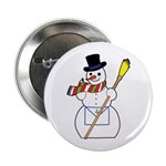 The Masonic Snowman Button