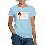 GIMME ICE CREAM Women's Light T-Shirt