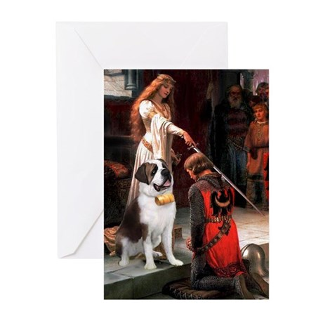 The Accolade Saint Bernard Greeting Cards (Pk of